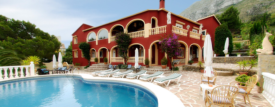 Villa Pink Flamingo, your Hotel in 03700 Denia - Spain